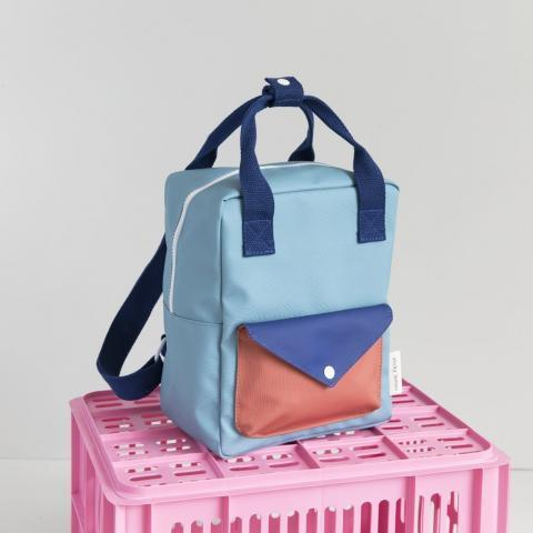Blue Small Envelope Backpack