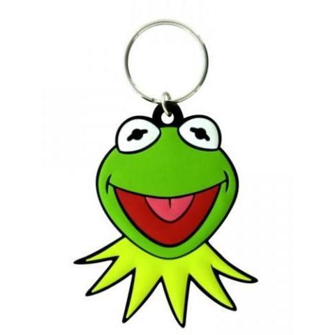 The Muppets Kermit Face Schlüsselring