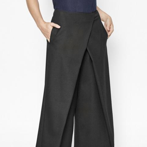 Lana Wide-Leg Culottes | Trousers & Leggings | French Connection