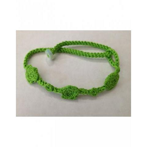 bracelet trilogy by hook  light green - Inglese-Abbigliamento.com