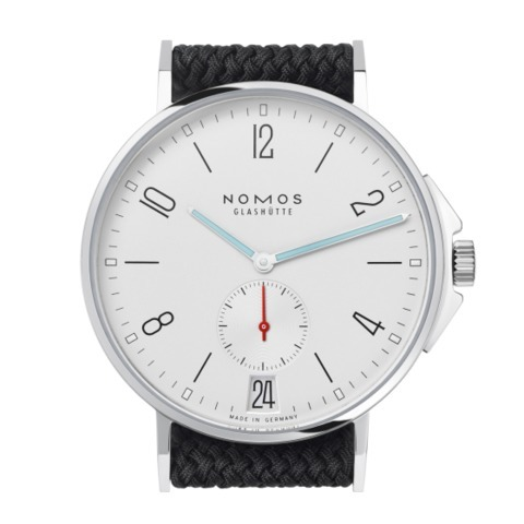 Ahoi Datum sapphire crystal back | Beautiful watches purchased online. Directly from NOMOS Glashütte.