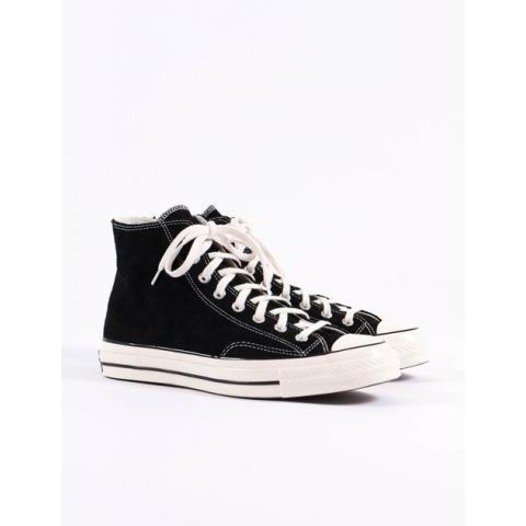 Black/Egret Suede Chuck Taylor All Star 70s Hi by Converse – The Bureau Belfast