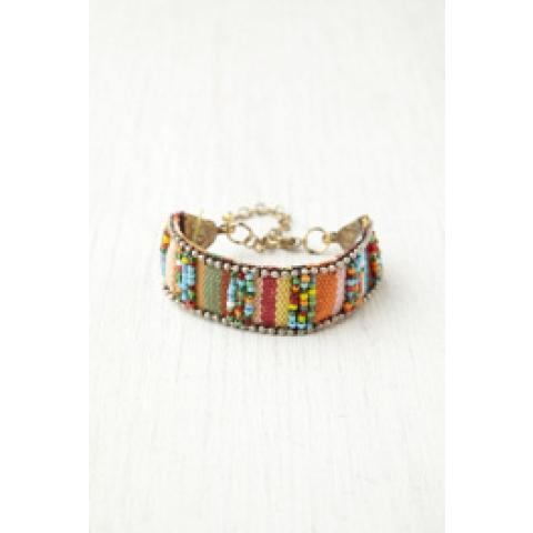 Mixed Metal Friendship Bracelet at Free People Clothing Boutique