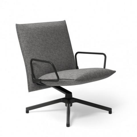 Knoll Pilot Chair, Low Back | Utility Design UK