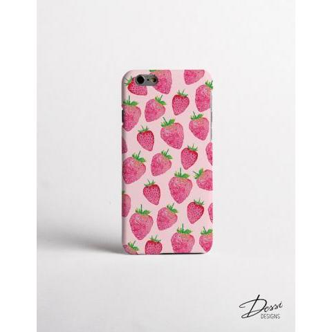 STRAWBERRY phone case design for iPhone Cases HTC Cases