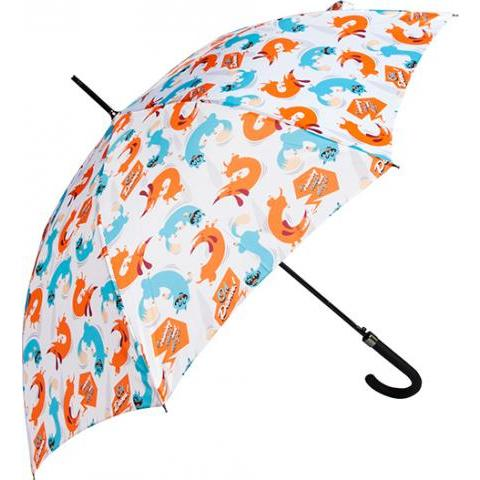 Parapluie Canne It's raining cats and dogs - Parapluies originaux, colorés et customisés Dandyfrog