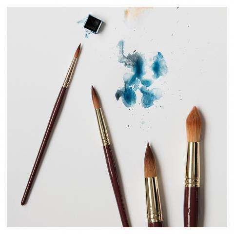 Monograph Watercolour Paintbrushes Set of 4 - Home Accessories - The Conran Shop