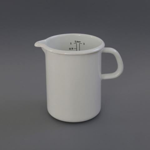 LABOUR AND WAIT | Enamel Measuring Jug