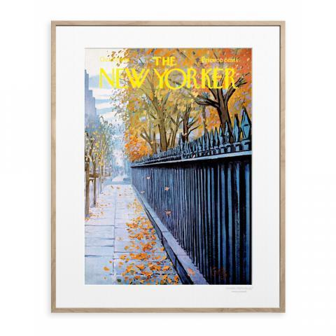 Affiche The New Yorker - Getz Autumn 1968