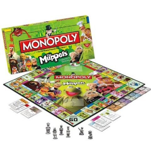 Amazon.com: Monopoly The Muppets: Toys & Games