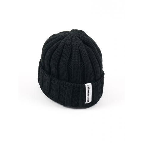 Manastash - 716903709 - 90's Logo Beanie - Black – The Northern Fells Clothing Company
