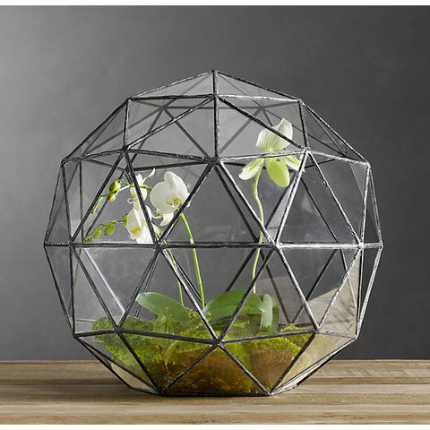 Geodesic Terrarium | Vessels & Trays | Restoration Hardware