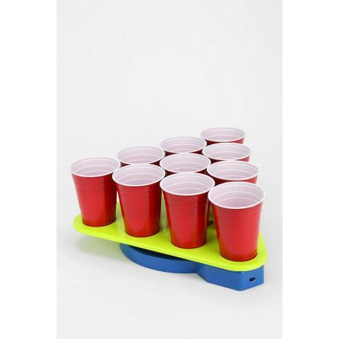 Spinning Beer Pong Rack - Urban Outfitters on Wanelo