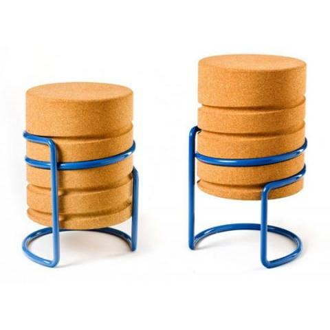 Changing Heights: The Cork Screw Inspired Stool | Apartment Therapy