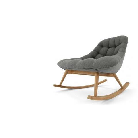 Kolton, rocking-chair, gris marne | MADE.com