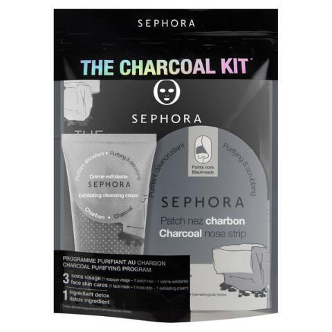 THE CHARCOAL KIT(1) - Kit Soin visage de SEPHORA COLLECTION ≡ SEPHORA