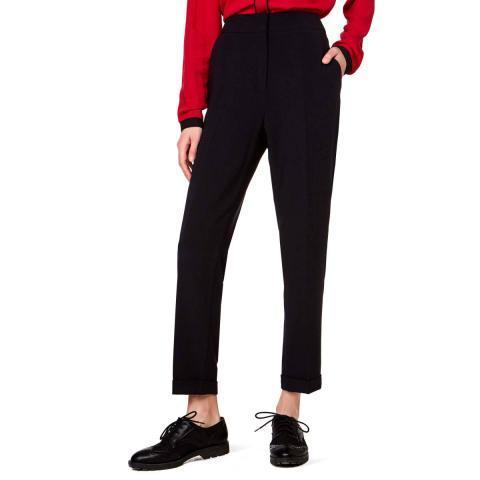 Pantalon stretch, Noir - Benetton