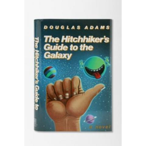 The Hitchhiker's Guide To The Galaxy By Douglas Adams - Urban Outfitters