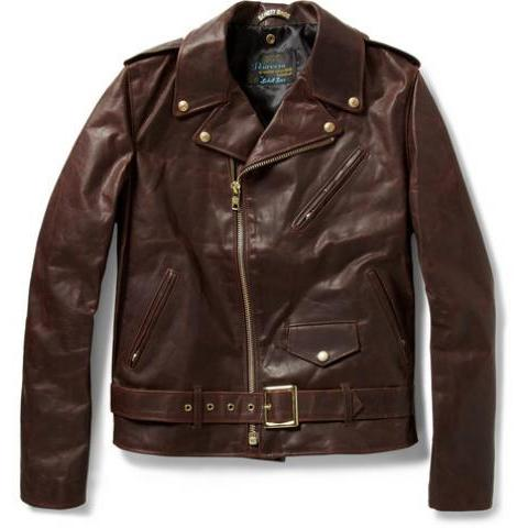 Schott Perfecto Vintage-Oiled Leather Motorcycle Jacket | MR PORTER