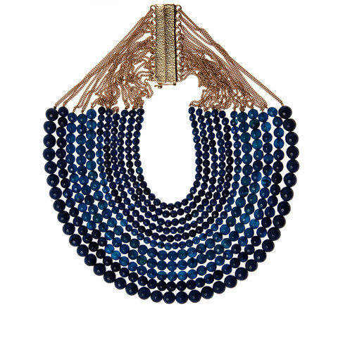 Rosantica Lapis Lazuli Rassia Necklace | Jewellery by Rosantica | Liberty.co.uk