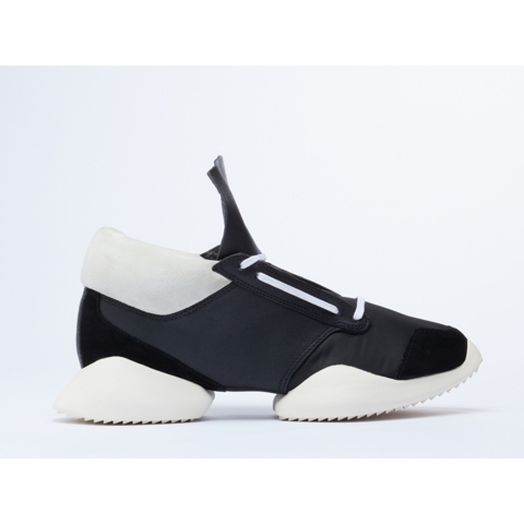 Adidas Originals X Rick Owens Runner Mens in Black White Black