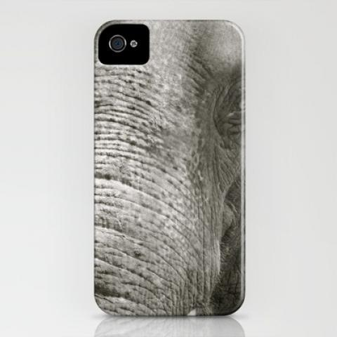 L'Éléphant iPhone Case by Joëlle Tahindro | Society6