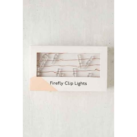 Firefly Clips String Lights - Urban Outfitters