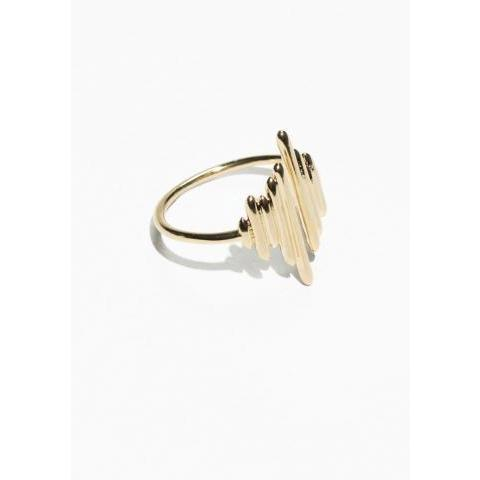 Bar Ring - Gold - & Other Stories