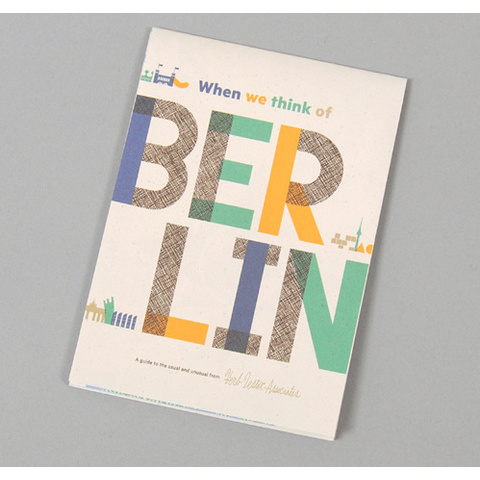 WHEN WE THINK OF BERLIN :: HICKOREE'S