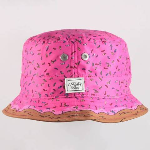 Chapeau bob Cayler and sons Munchies bucket hat Rose / violet - UrbanLocker