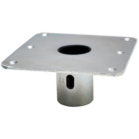 Lund 1820565 Galvanized Steel 1 77 in Boat Snap Lock Seat Pedestal Base | eBay