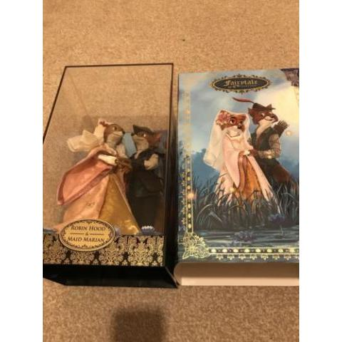 Disney Store Robin Hood and Maid Marion Fairytale series limited edition dolls | eBay