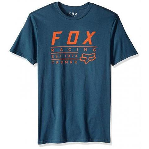 Amazon.com: Fox Men's Trdmrk Short Sleeve Premium T-Shirt,: Clothing