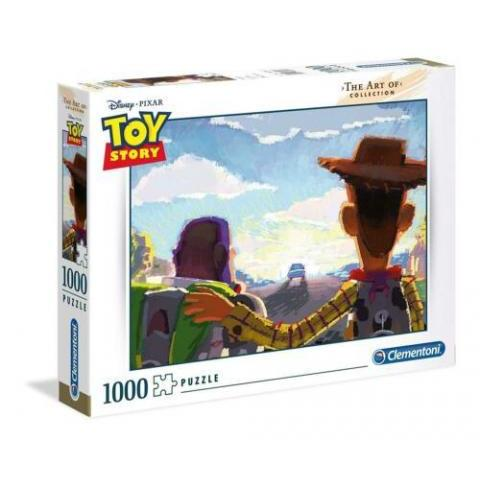 Clementoni The Art Of Disney Toy Story 1000 Piece Jigsaw Puzzle 8005125394913 | eBay