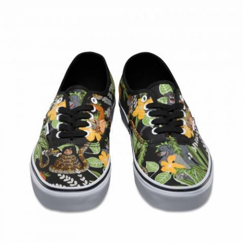 Vans Chaussures Authentic Disney (Disney) The Jungle Book/black