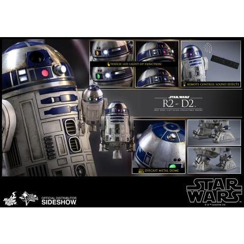 Star Wars R2-D2 Sixth Scale Figure by Hot Toys | Sideshow Collectibles