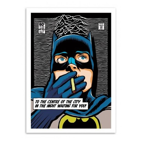 Post-Punk Bat - Butcher Billy - Wall Editions