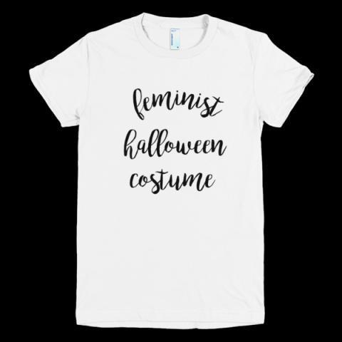 Feminist Halloween Costume T-Shirt – little cutees