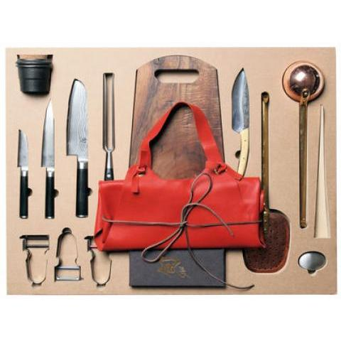 Malle W. Trousseau Set - Complete trunk - 43 kitchen essentials : cutting, cooking and containers by Malle W. Trousseau