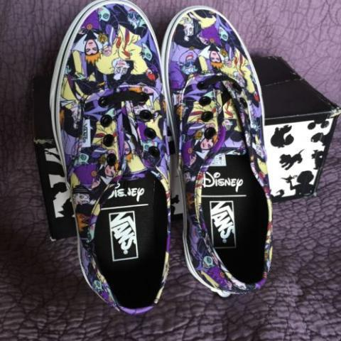 NEW Vans Disney Multi Villain Authentic HTF Women'S 7 MEN'S 5 5 Rare NIB | eBay