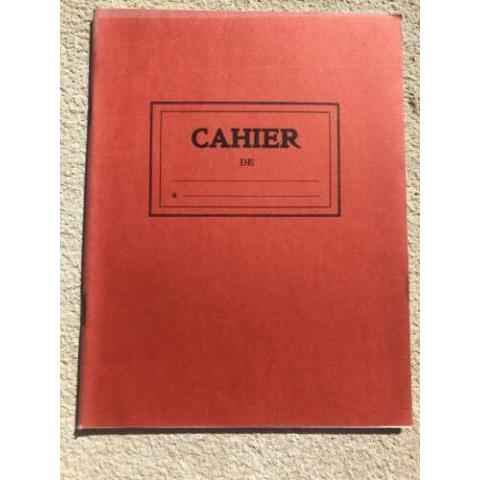 ANCIEN CAHIER ÉCOLIER/ÉCOLE FOURNITURE SCOLAIRE VINTAGE/ OLD FRENCH NOTEBOOK   | eBay