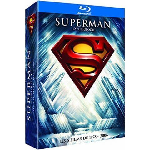 Superman L'anthologie : Les Films De 1978 - 2006 Blu-ray: Amazon.fr: Annette O'Toole, Annie Ross, Brandon Routh, Christopher Reeve, Clifton James, David Fabrizio, E.G. Marshall, Eva Marie Saint, Frank Langella, Gavan O'Herlihy, Gene Hackman, Jackie Cooper, James Marsden, Kal Penn, Kate Bosworth, Kevin Spacey, Larry Hagman, Marc McClure, Margot Kidder, Maria Schell, Marlon Brando, Ned Beatty, Parker Posey, Robert Vaughn, Sam Huntington, Sarah Douglas, Susannah York, Terence Stamp, Tristan Lake Leabu, Valerie Perrine, Bryan Singer, Dan Harris, David Newman, Jerry Siegel, Joe Shuster, Lawrence Konner, Leslie Newman, Mario Puzo, Mark Rosenthal, Michael Dougherty, Robert Benton, Tom Mankiewicz, Richard Donner, Richard Lester, Sidney J. Furie: DVD & Blu-ray