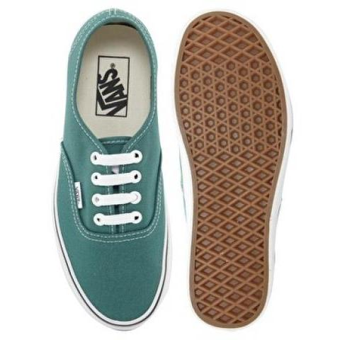 Vans | Vans - Authentic - Baskets à lacets - Bleu canard chez ASOS