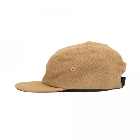 Five Panel Cap - Tan Twill — Folk