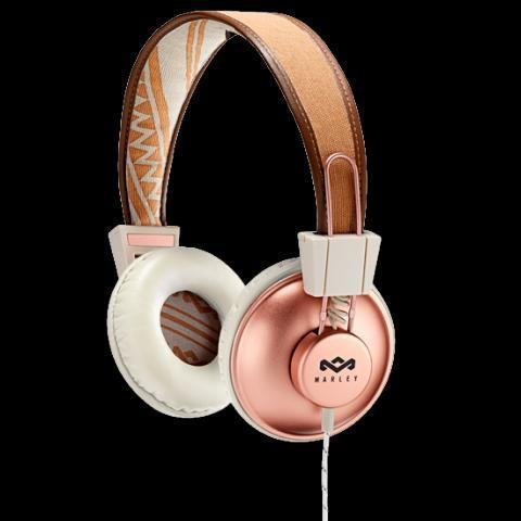 Positive Vibration On-Ear Headphones Copper  | House of Marley