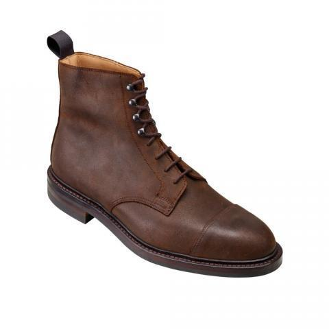 Coniston Dark Brown Roughout | Crockett & Jones
