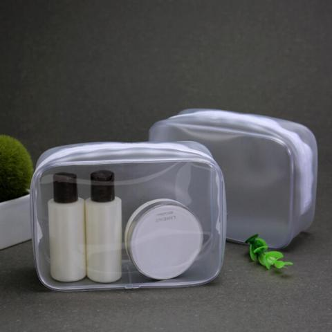Trousse de maquillage transparente en PVC Transparent trousse de toilette Portable trousse de toilette imperméable trousse de toilette Kits de lavage de beauté dans Sacs À cosmétiques et Cas de Baggages et sacs sur AliExpress.com | Alibaba Group