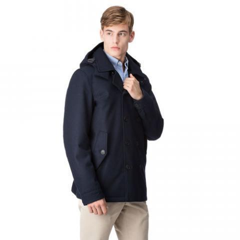 PEACOAT - TECHNO WOOL Baracuta