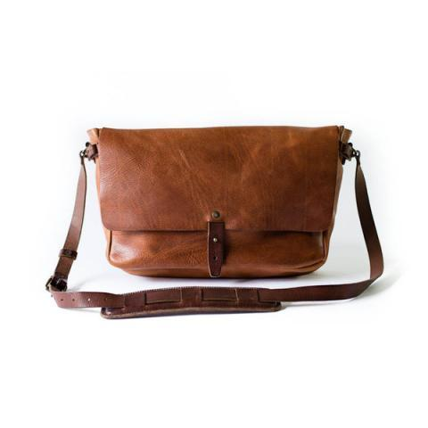 Vintage Messenger Bag | Whipping Post