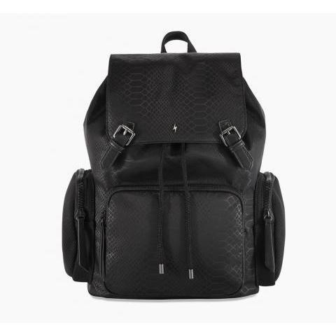 Pauls Boutique Bonnie Black Nylon Backpack